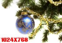 Kalėdiniai ir Naujametiniai darbastalio fonai 1024x768