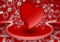 Valentino dienos darbastalio fon? rinkinys