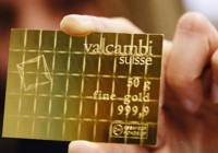 Investicinis auksas šokolado plytelėmis