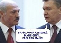 SLAPTAI: Lukašenko padėjo Janukovičiui pasislėpti Baltarusijoje