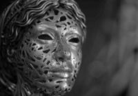 Rinkiniai: Žmonių skulptūros iš plieno strypų