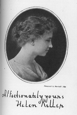 Helen Keller - akla mergaitė kuri matė