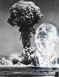 Slaptas Nacių ginklas - Atominė bomba