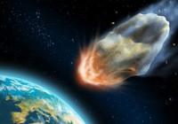 tekstai: Didelis meteoras ryt vos neatsitrenks į Žemę