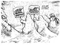 tekstai: Globalus atšilimas, kurio nebuvo