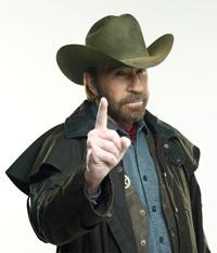 tekstai: Trumpai ir aiškiai apie Chuck Norris