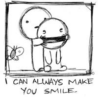 tekstai: I Can Always Make You Smile