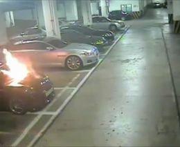 4. Automobilio gaisras