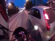 2. Asiliukas motociklistas buvo gerai nubaustas