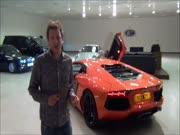 """4. Kaip pasikepti dešrelę ant """"Lamborghini Aventador"""""""