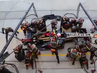 1. F1 pitstop
