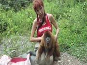 3. Juokingas beždžioninas