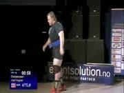 3. Norvegas Carl Christensen išspaudė 475kg