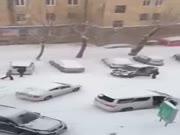 3. Sibire jau žiema