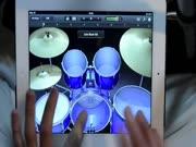 3. Puikus būgnų solo per iPad