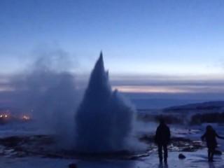 2. Geizerio išsiveržimas minusinėje temperatūroje