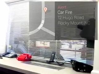 3. Google akiniai gaisrininkams