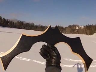 4. Labai kokybiškas bumerangas