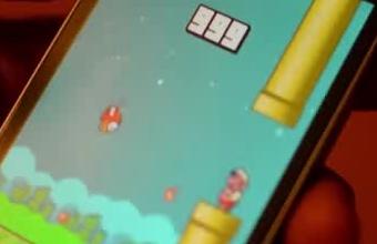 4. Apmaudžiai nepavykęs rekordas Flappy Bird žaidime