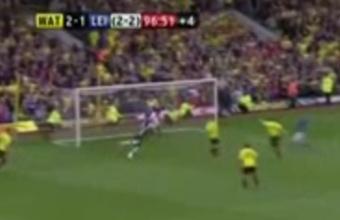 3. Stebuklinga paskutinė rungtynių minutė tarp Watford ir Leicester