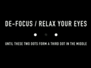 3. Stereo klipas (suvesk du taškus akimis į tris ir gėrėkis 3D)
