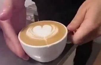 4. Kaip ant kavos nupiešti gėlę