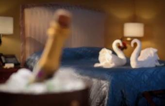 3. Įdomi viešbučio reklama