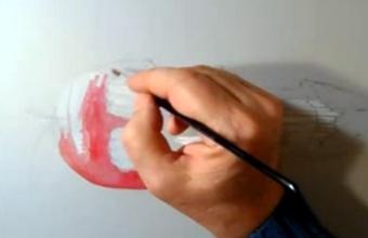 2. Piešiame optinę iliuziją