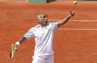 4. Teniso žvaigžd?s Mansour Bahrami prikolai