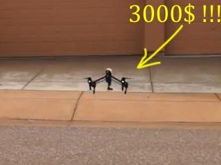 2. Nusipirko quadrokopterį už 3000 USD